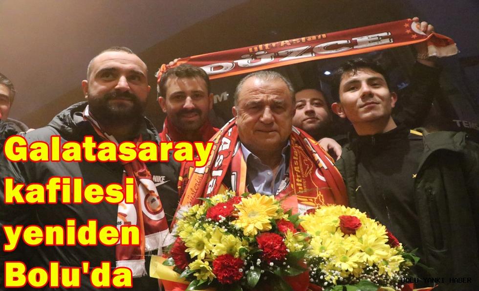 Galatasaray kafilesi yeniden Bolu'da