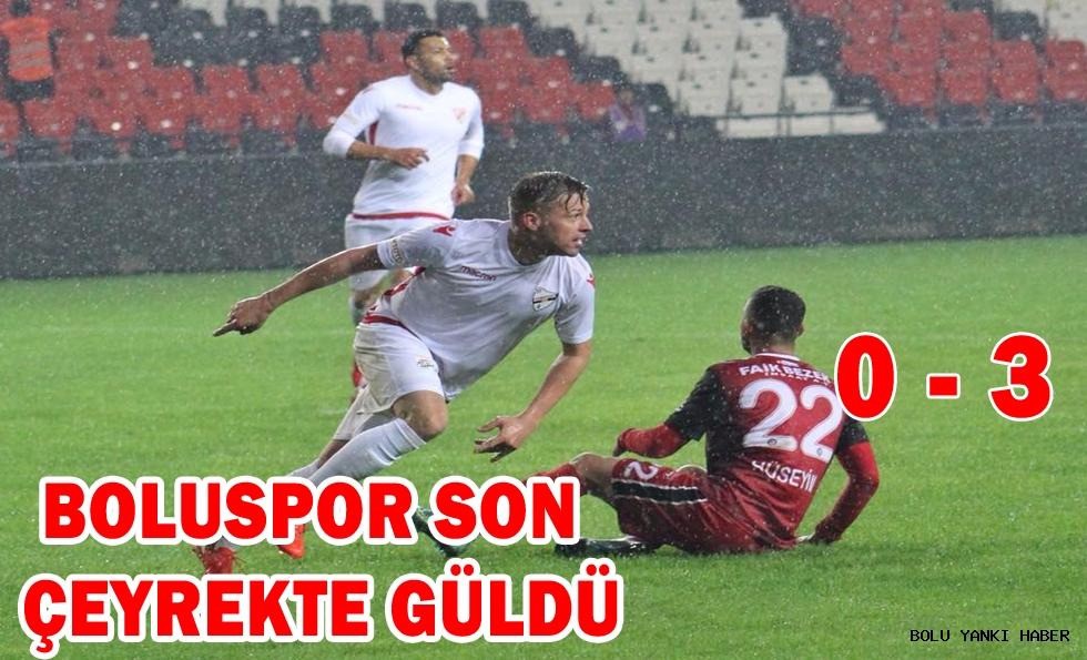 Gaziantepspor 0 - 3 Boluspor