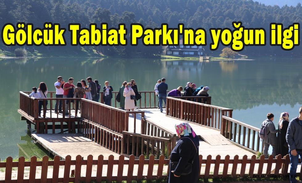 Gölcük Tabiat Parkı'na yoğun ilgi