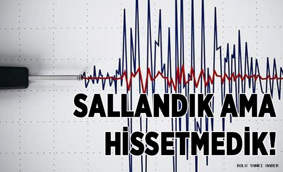 HAFİF SALLANDIK...