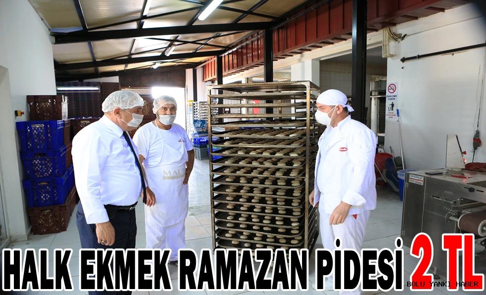 Halk Ekmek Ramazan pidesi 2 TL