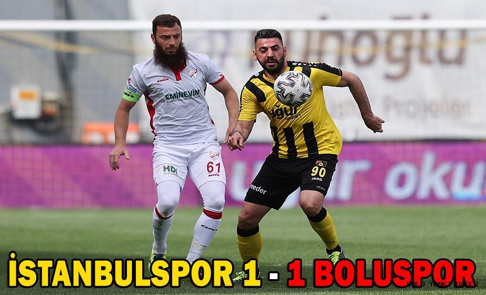 İstanbulspor 1 - 1 Boluspor