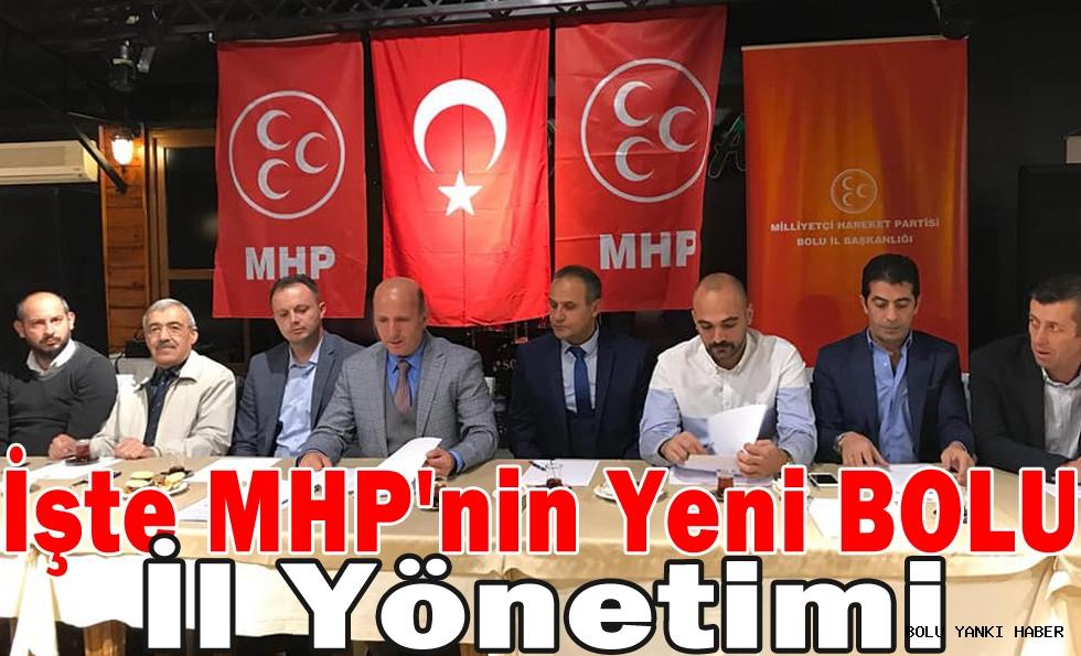 İşte MHP'nin Yeni BOLU İl Yönetimi