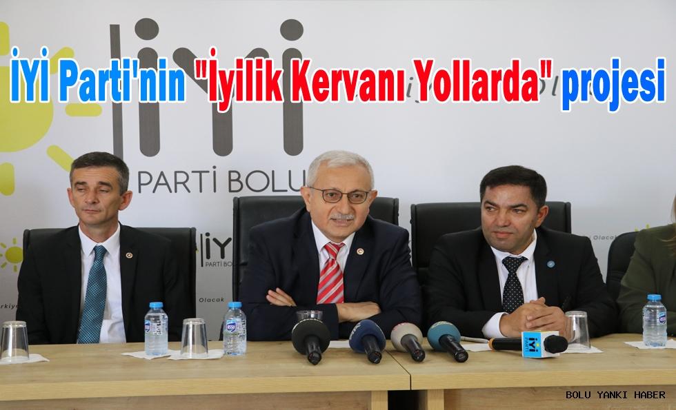 İYİ Parti'nin ''İyilik  Kervanı Yollarda'' projesi