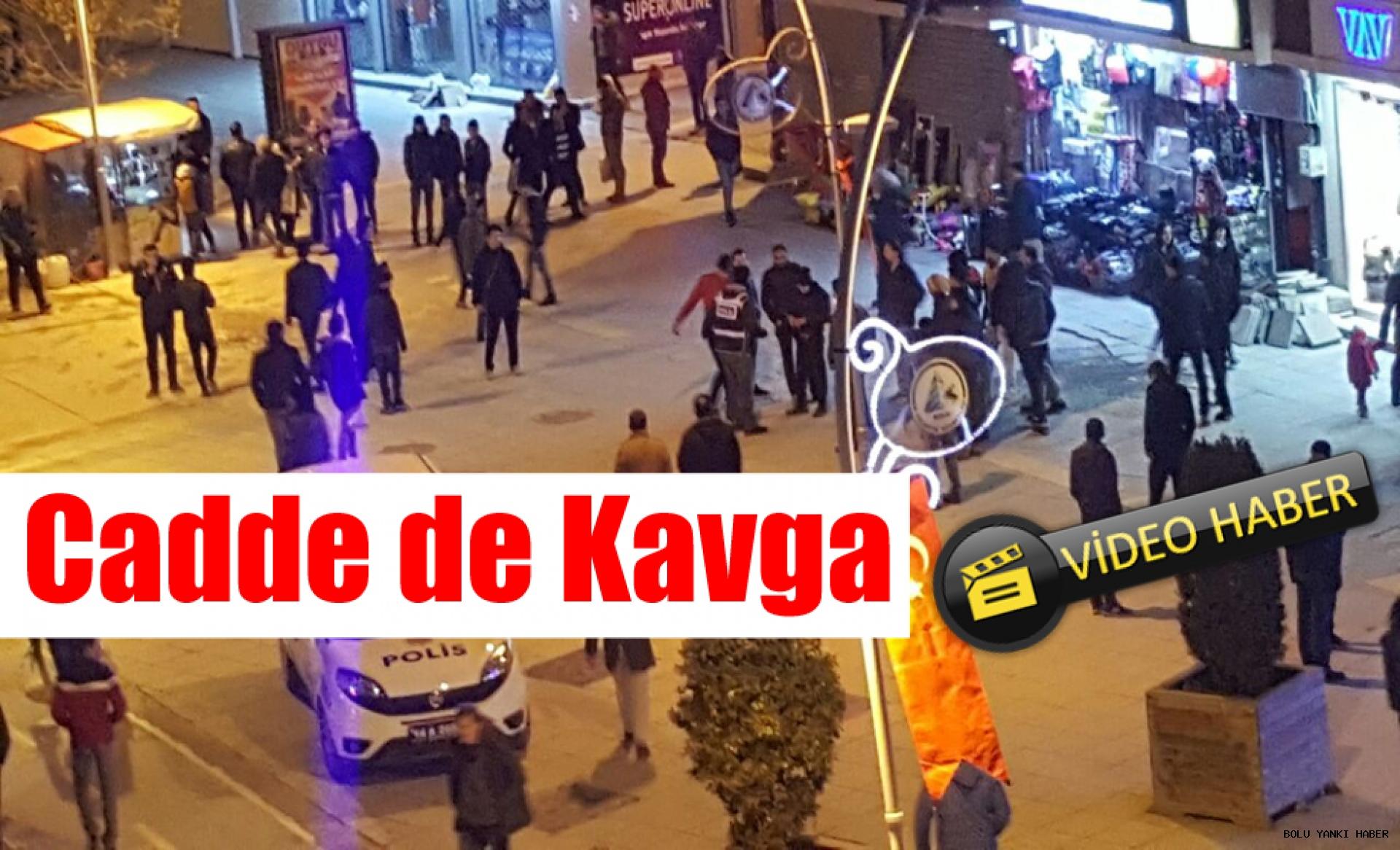 İzzet Baysal Caddesin de Kavga