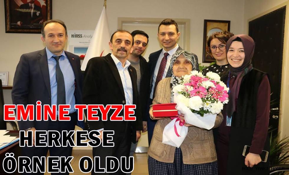 İzzet Baysal Devlet Hastanesine Bağış