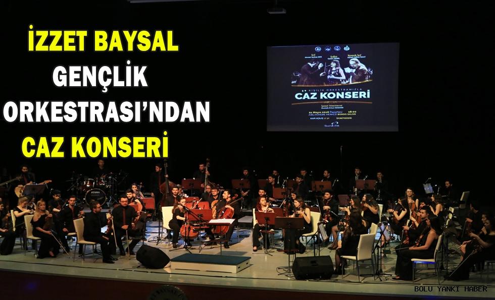 İzzet Baysal Gençlik Orkestrası'ndan caz konseri