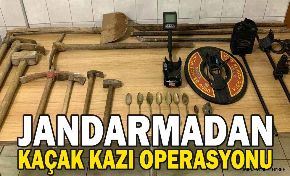 JANDARMADAN KAÇAK KAZI OPERASYONU