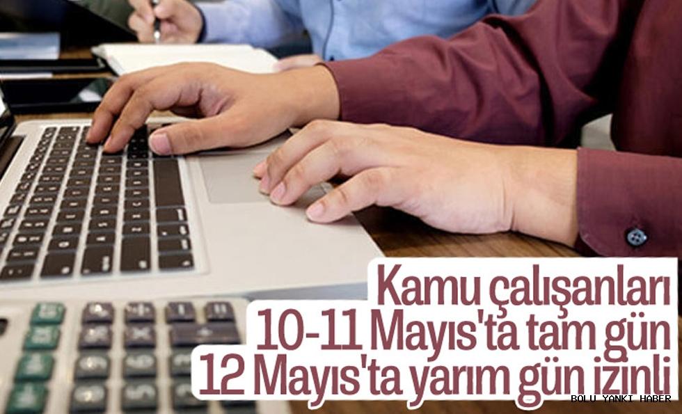 Kamuda çalışanlar için idari izin kararı