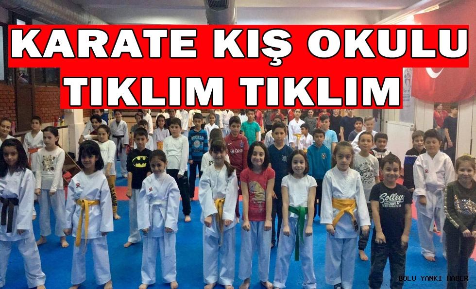Karate Kış Okulu Tıklım Tıklım