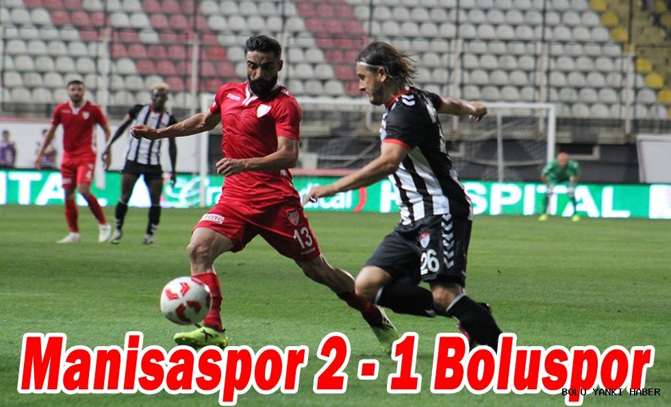 Manisaspor 2 - 1 Boluspor