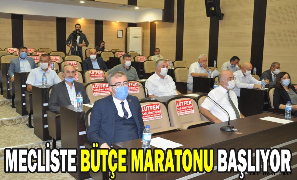 MECLİSTE BÜTÇE MARATONU BAŞLIYOR