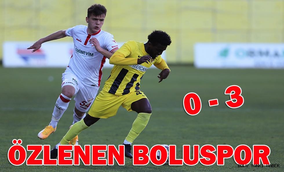 Menemenspor: 0 - Beypiliç Boluspor: 3