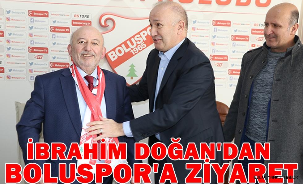 MHP Belediye Başkan Adayı İbrahim Doğan'dan Boluspor'a Ziyaret