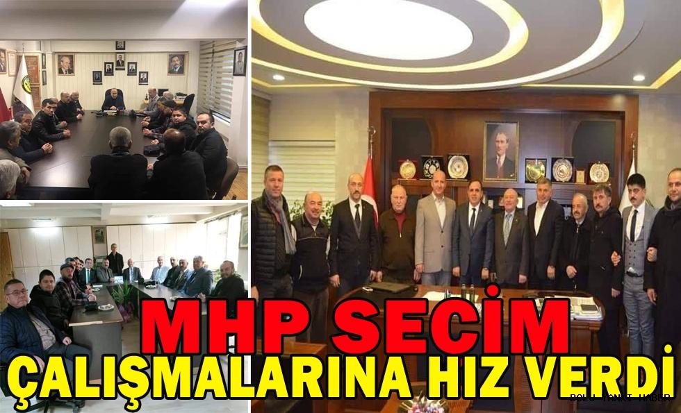 MHP Seçim Çalışmalarına Hız Verdi