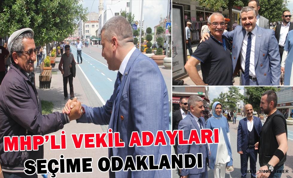 MHP'li Vekil Adayları Seçime Odaklandı