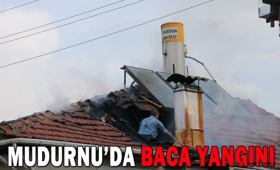 MUDURNU'DA BACA YANGINI