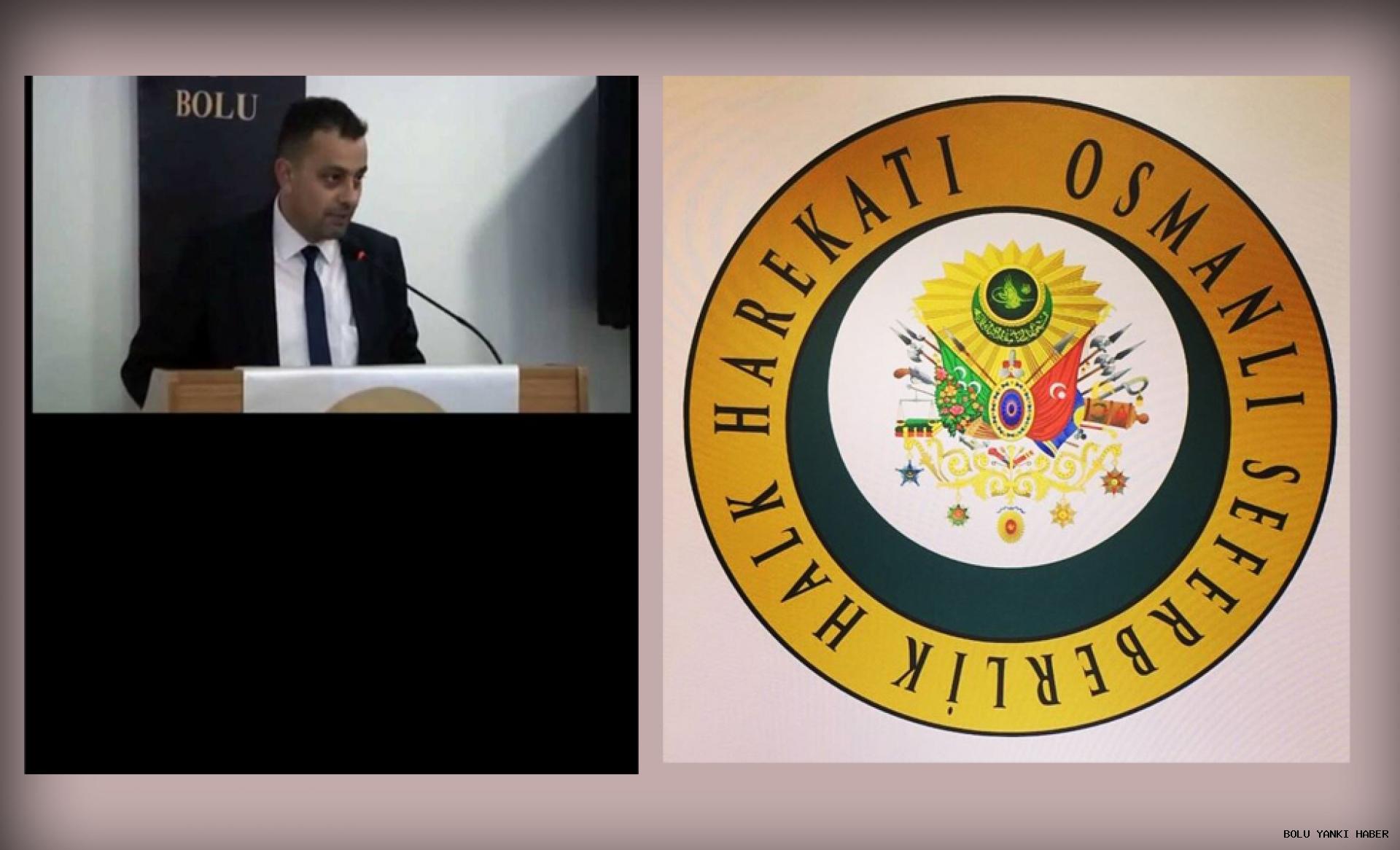 Osmanlı Seferberlik Halk Harekatı İl Başkanlığına Melih Akbaş getirildi.