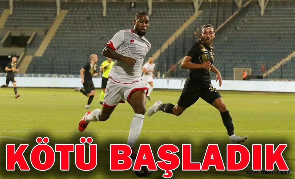 Osmanlıspor 2 - 1 Boluspor