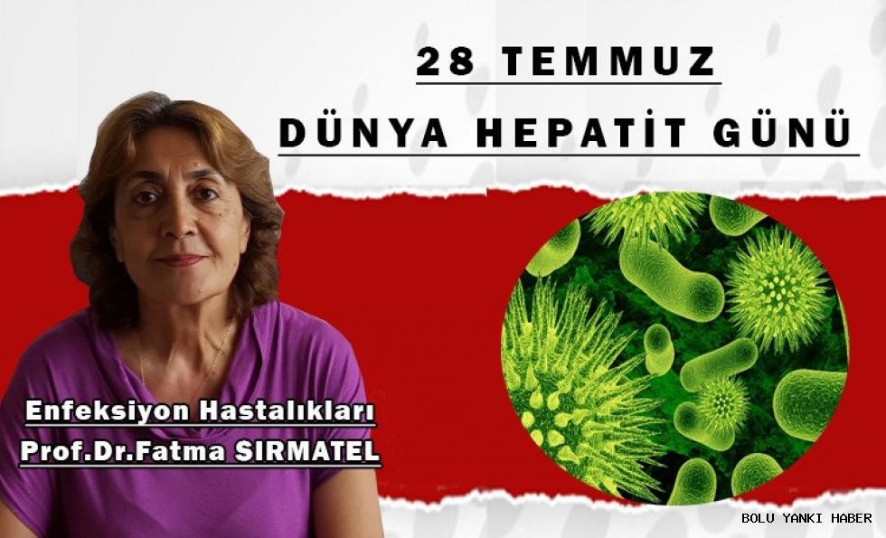 Prof.Dr.Fatma SIRMATEL; Hepatit nedir? Belirtileri,tedavisi ve nasıl bulaşır