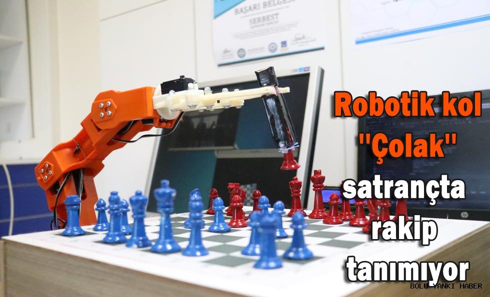 Robotik kol''Çolak''satrançta rakip tanımıyor