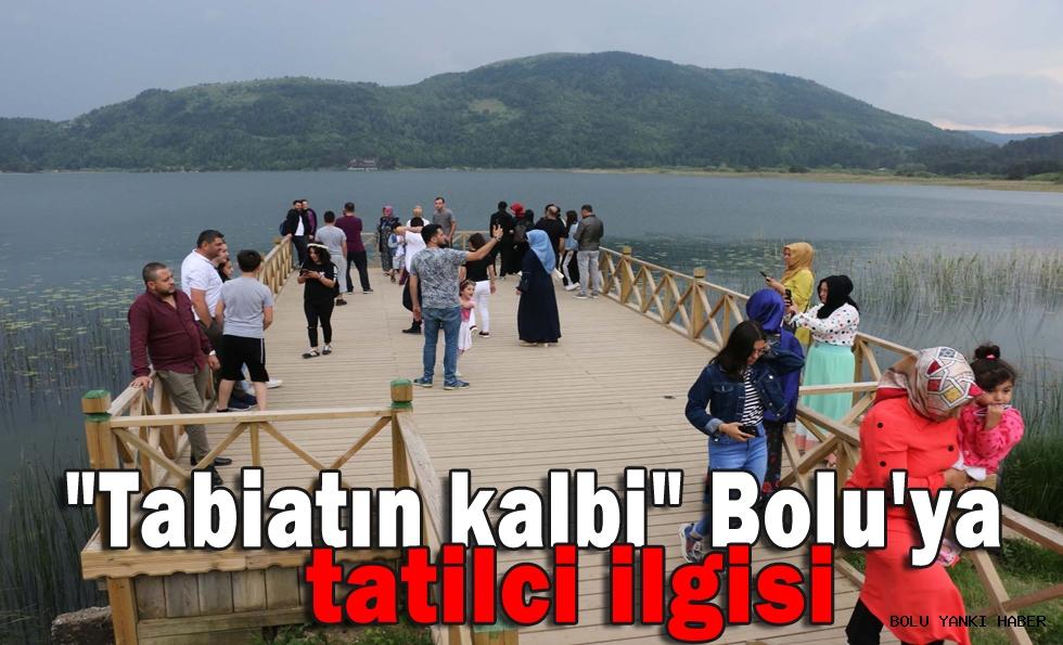 ''Tabiatın kalbi'' Bolu'ya tatilci ilgisi