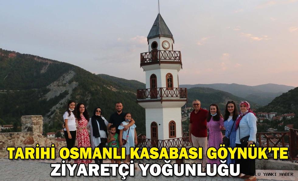 Tarihi Osmanlı kasabası Göynük'te ziyaretçi yoğunluğu