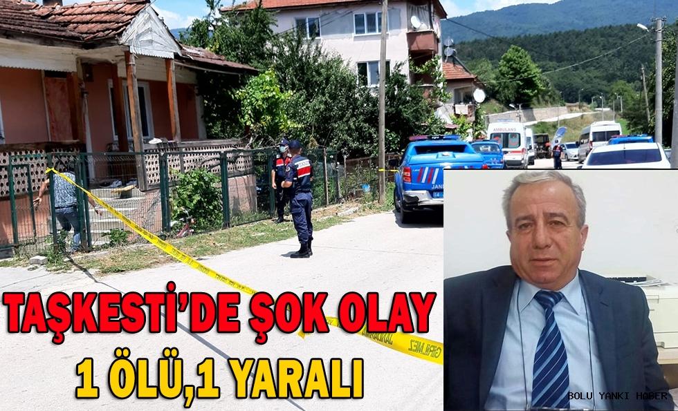 TAŞKESTİ'DE SİLAHLI KAVGA KARI-KOCA'DAN BİRİ ÖLDÜ,BİRİ AĞIR YARALANDI