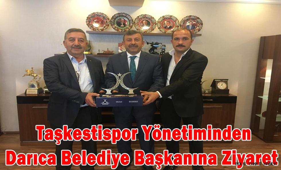 Taşkestispor Yönetiminden Darıca Belediye Başkanına Ziyaret