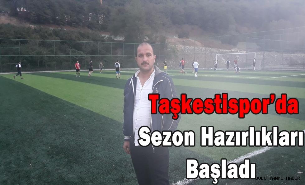 Taşkestispor'da Sezon Hazırlıkları Başladı