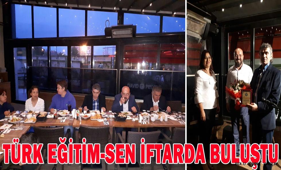 Türk Eğitim-Sen iftarda buluştu