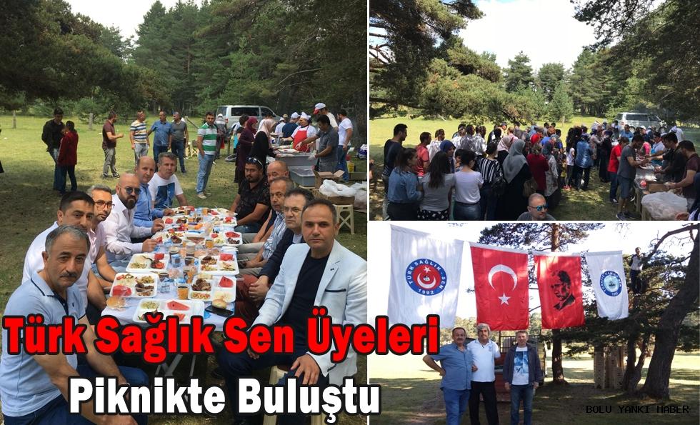 Türk Sağlık Sen Üyeleri Piknikte Buluştu