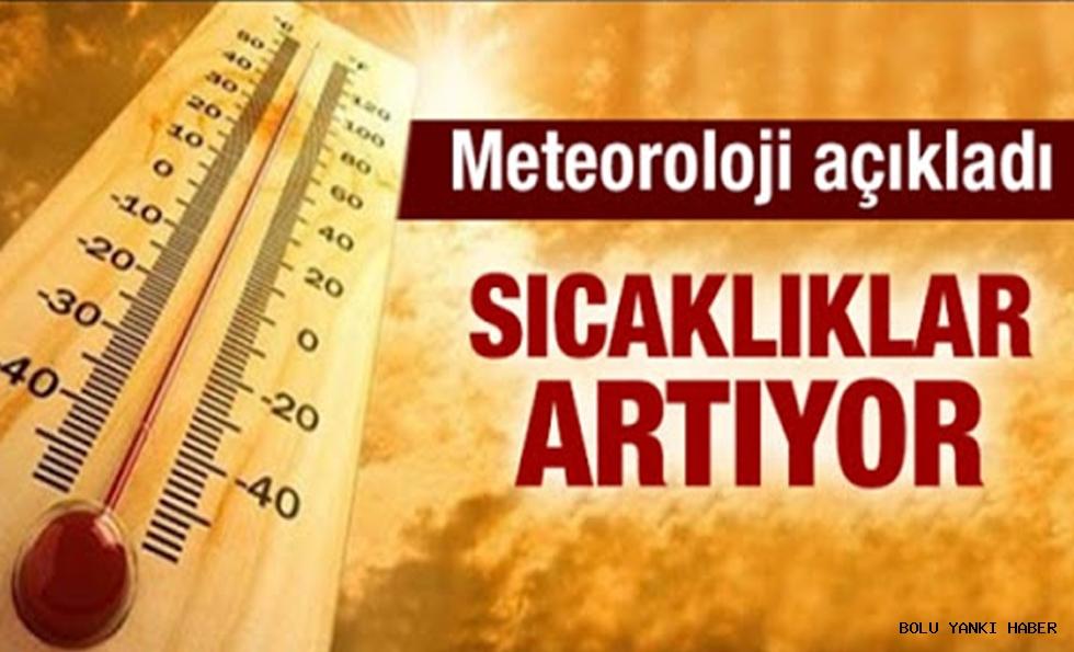 Türkiye genelinde sıcaklıklar mevsim normalleri üzerine çıkacak