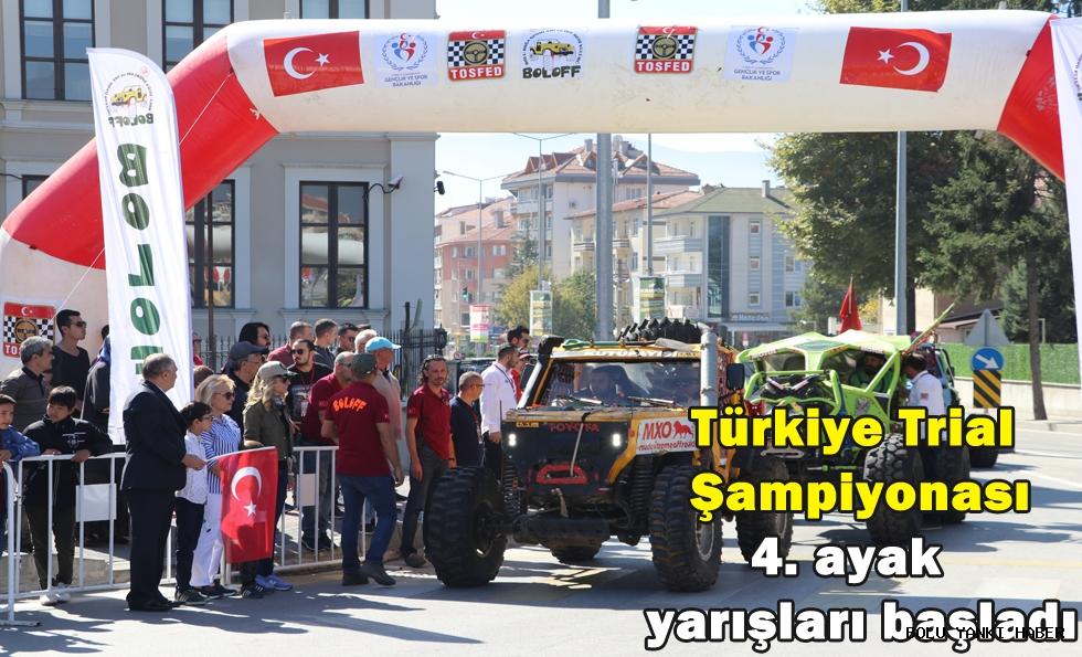 Türkiye Trial Şampiyonası 4. ayak yarışları başladı