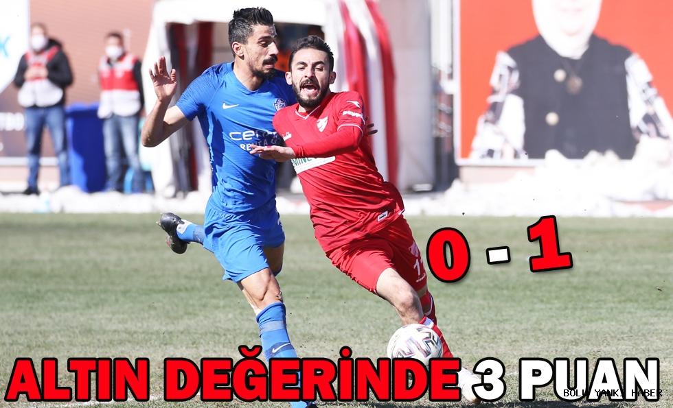 Tuzlaspor: 0 - Beypiliç Boluspor: 1
