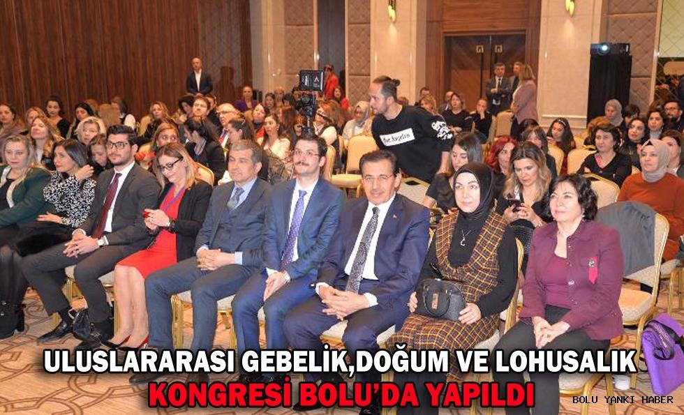 Uluslararası Gebelik, Doğum ve Lohusalık Kongresi Bolu'da Yapıldı