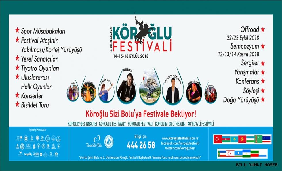 Uluslararası Köroğlu Festivali Başlıyor