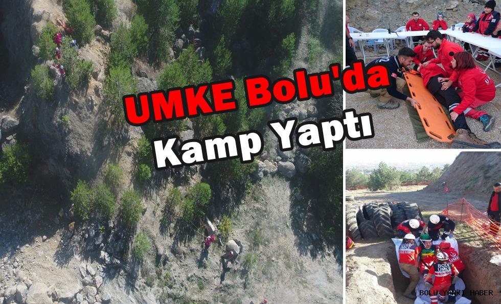 UMKE Bolu'da kamp yaptı