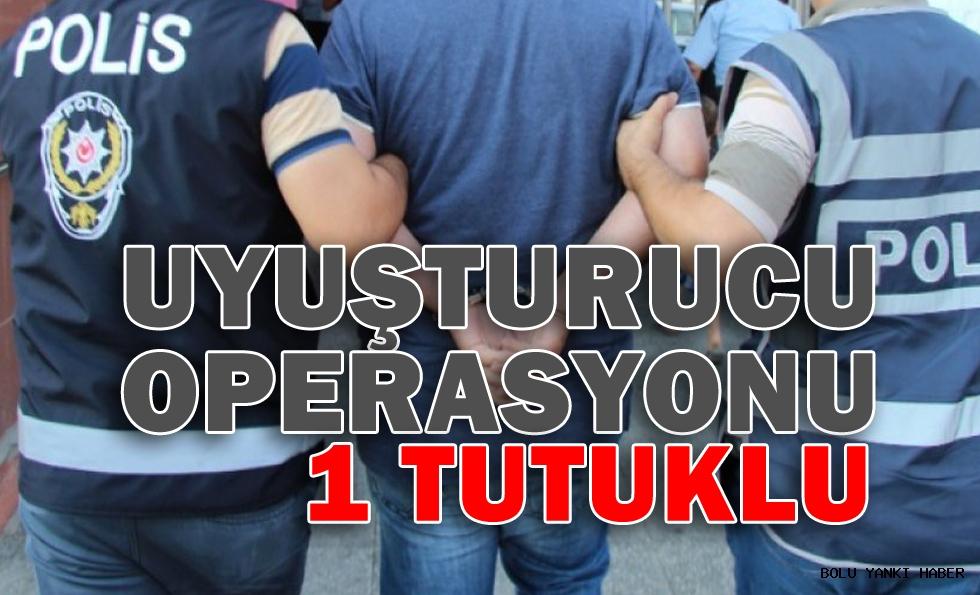 Uyuşturucu Operasyonu: 1 tutuklu