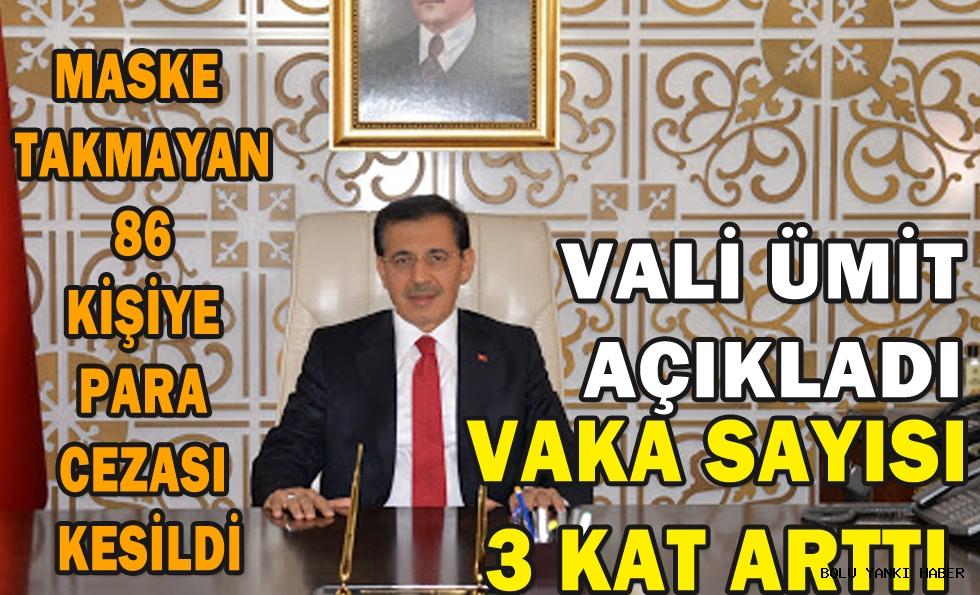 VALİ AHMET ÜMİT AÇIKLADI!