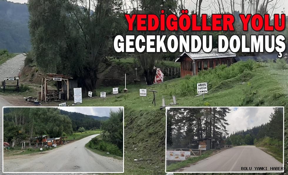 YEDİGÖLLER YOLU GECEKONDU DOLMUŞ