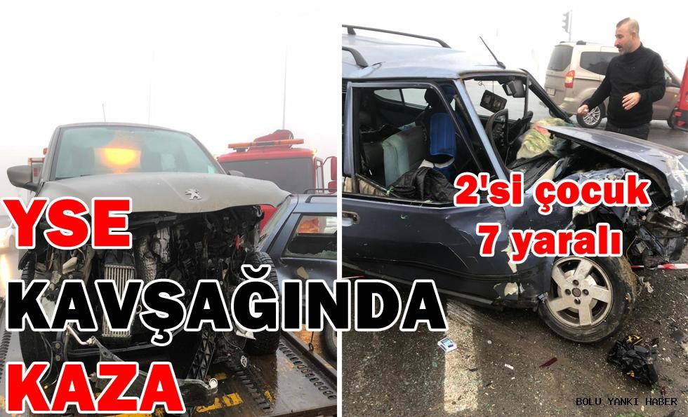YSE Kavşağında Kaza; 7 yaralı